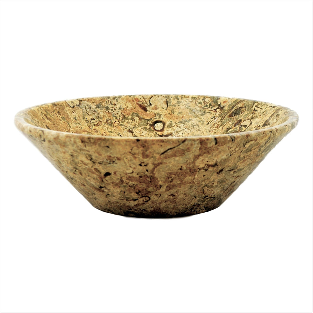 Fossil Stone Modern Fruit Bowl - Nature Home Decor