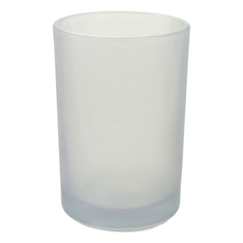 Frosted Glass Bathroom Tumbler of Cloud Collection - Nature Home Decor