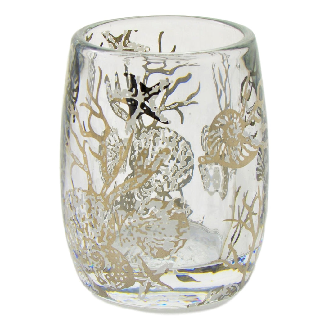 Glass Bathroom Tumbler of Antlers Collection - Nature Home Decor
