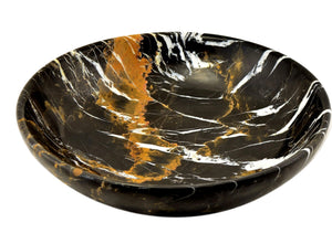 Michelangelo Marble 12-inch Fruit Bowl - Nature Home Decor