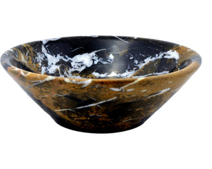 Michelangelo Marble 9.5 inch Fruit Bowl - Nature Home Decor