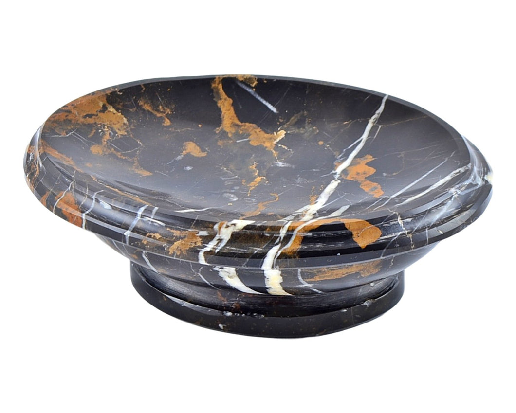 Michelangelo Marble Bathroom Accessories Soap Dish - Nature Home Decor