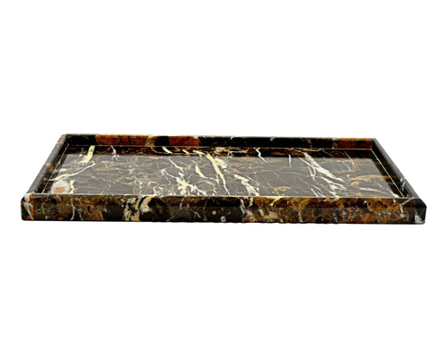 Michelangelo Marble Bathroom Vanity Tray - Nature Home Decor