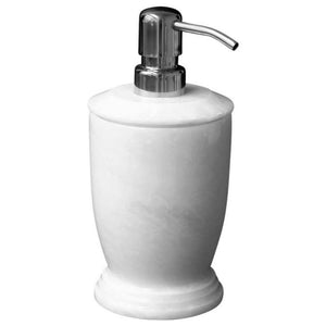 Modern Soap Dispenser | White Marble Soap | Lotion Dispenser - Nature Home Decor