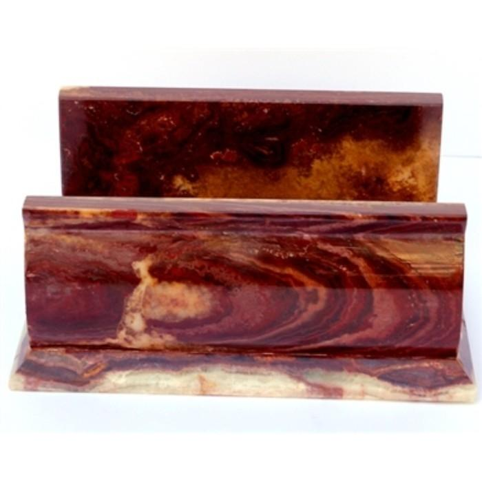 Multi Brown Onyx Bathroom Hand Towel Holder of Pacific Collection - Nature Home Decor