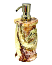 Load image into Gallery viewer, Multi Green Onyx Hand Soap | Lotion Dispensers of Pacific Collection - Nature Home Decor