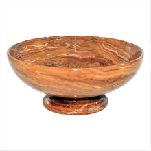 Load image into Gallery viewer, Multi Onyx Large Decorative Bowl - Nature Home Decor
