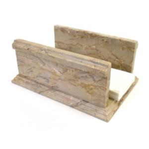 Paper Hand Towel Holder | Sahara Beige Marble - Nature Home Decor