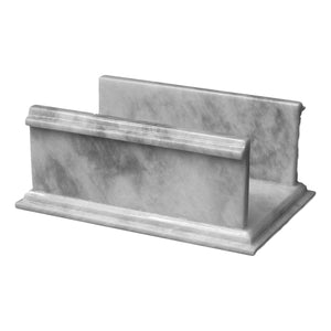 Paper Hand Towel Holder | White Marble Bathroom Hand Towel Holder - Nature Home Decor
