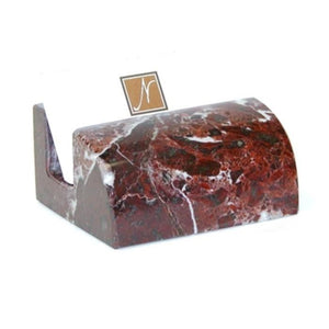 Rosa Lavonte Marble Business Card Holder - Nature Home Decor