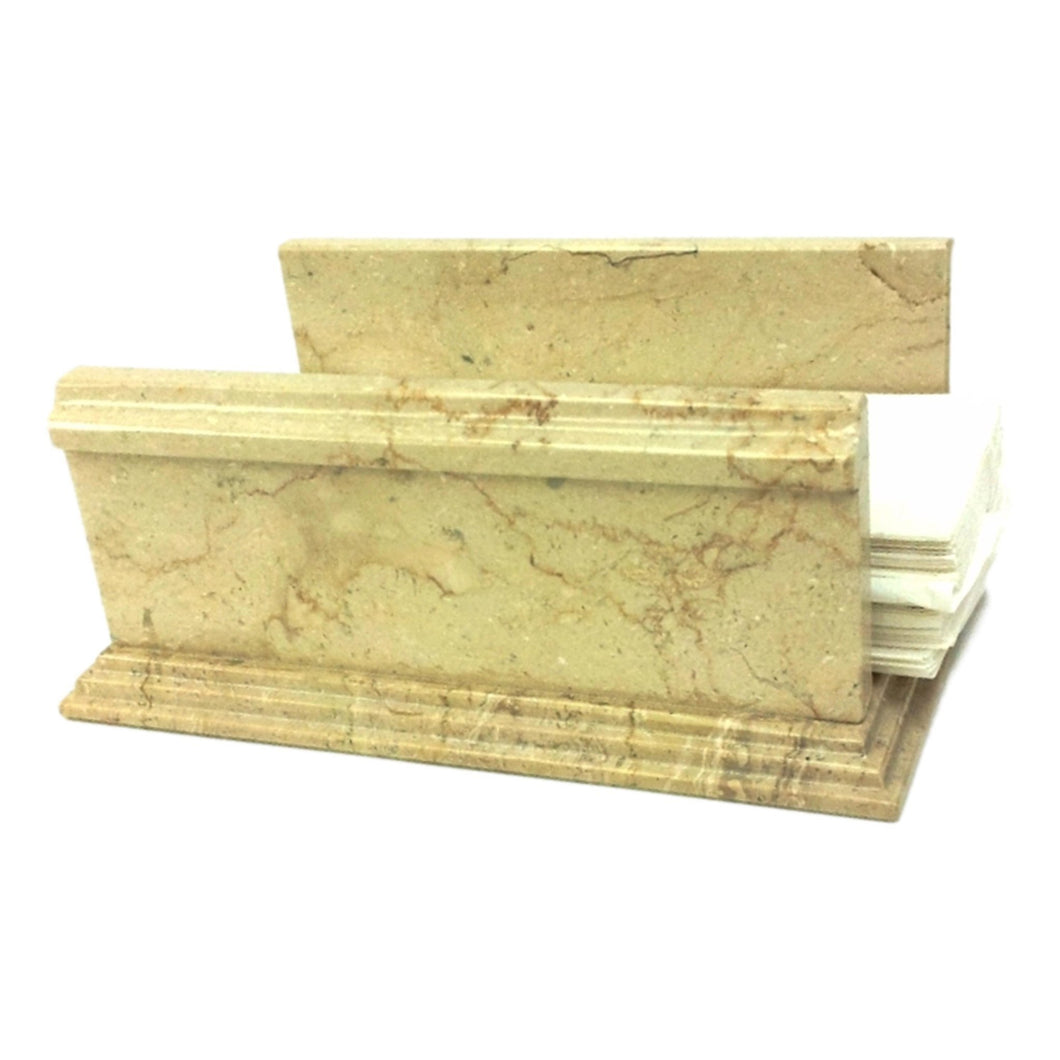 Sahara Beige Marble Hand Towel Holder of Mediterranean Collection - Nature Home Decor