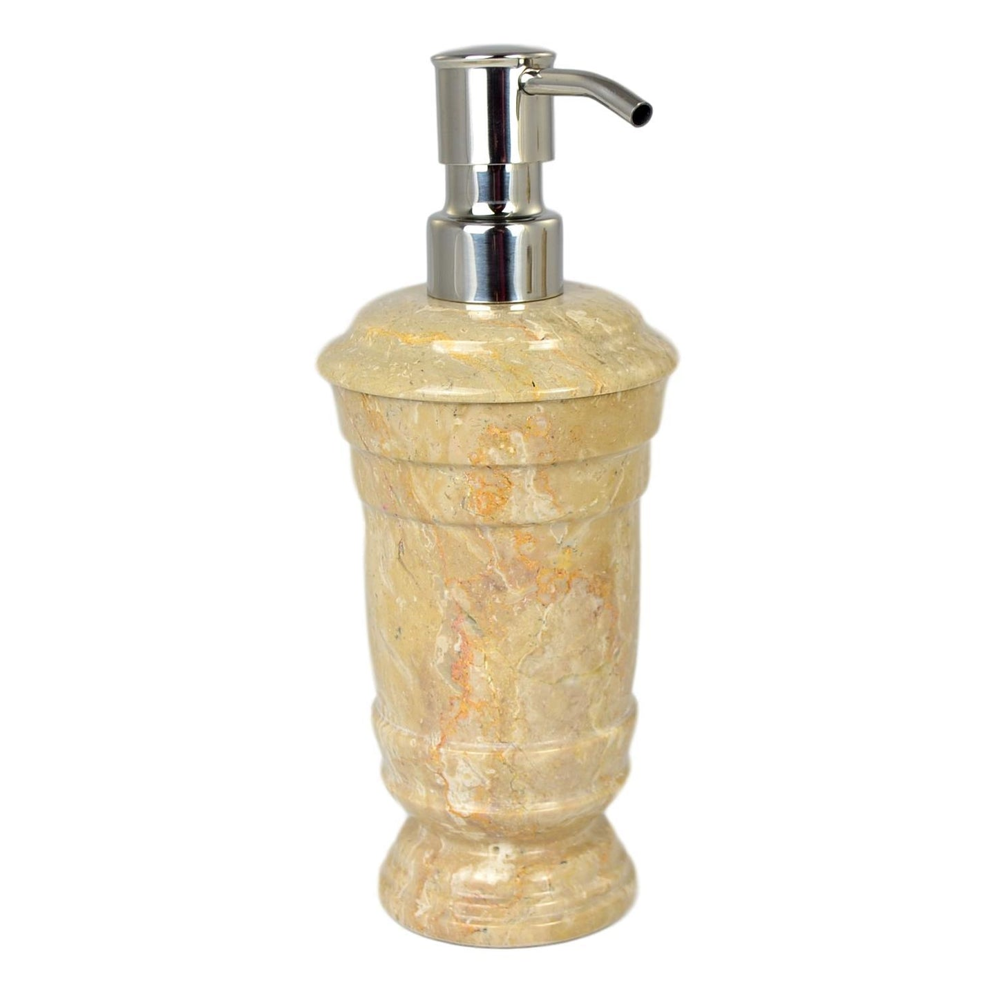 Sahara Beige Marble Liquid Soap | Lotion Dispenser - Nature Home Decor