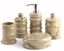 Load image into Gallery viewer, Sahara Beige Marble Lotion / Liquid Soap Dispenser - Nature Home Decor