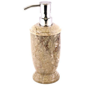 Sahara Beige Marble Lotion | Soap Dispensers - Nature Home Decor