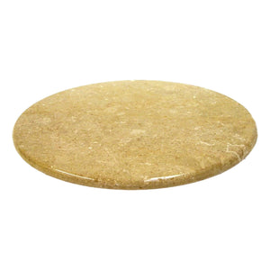 Stone Lazy Susan | 16-inches Sahara Beige Marble - Nature Home Decor