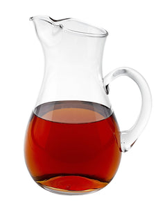 Zeus Crystal 36 Oz Serving Pitcher - Nature Home Decor