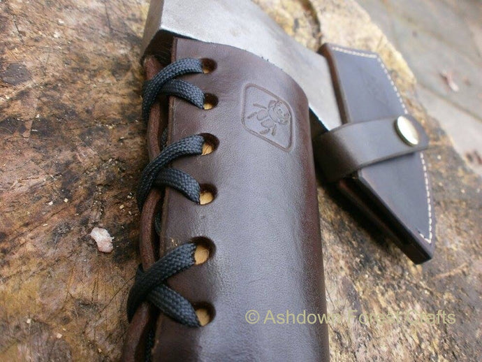 Robin Wood Carving Axe Overstrike Collar