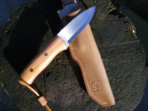 Ashdown Forest Crafts Wanderer knife with damson handle
