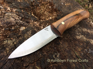 Wanderer bushcraft knife from Ashdown Forest Crafts