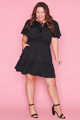 Kimberley Black Dress