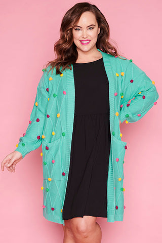 Cheerleader Rainbow Cardi