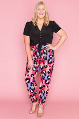 Kara Bright Animal Pants