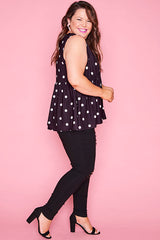 Leah Polka Dot Top