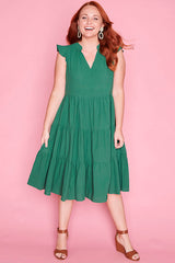 Selina Green Dress