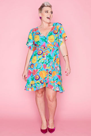 Sue Juicy Jane Wrap Dress