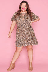 Kimberley Leopard Print Dress
