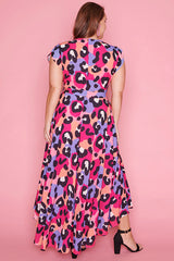 Maria Bright Animal Dress