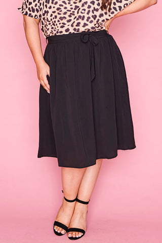 Ada Black Skirt