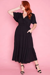Cynthia Black Dress