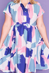 Frankie Brushstroke Dress