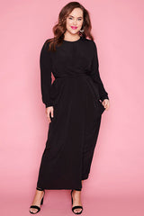 Alchemy Black Maxi Dress