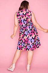 Oscar Bright Animal Dress