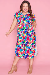 Ryan Painterly Shirt Dress