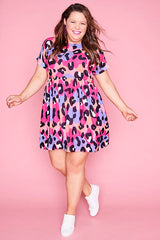 Freya Bright Animal Dress
