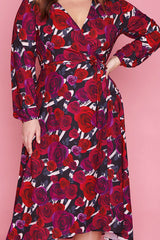 Nelly Floral Romance Wrap Dress