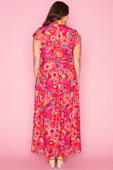 Miley Floral Splendour Maxi Dress
