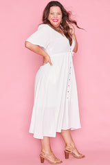 Marley White Dress