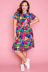 Bam Stained Glass Dress