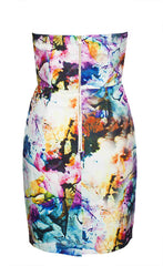 Ariana Abstract Dress