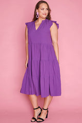 Selina Purple Dress