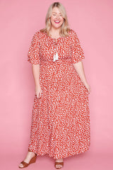 Kelsey Leopard Print Dress