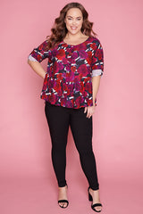 Arizona Floral Romance Blouse