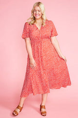 Marley Red Spots Dress