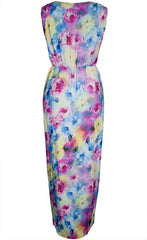 Hideaway Bright Floral Maxi Dress