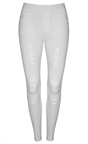 Riptide White Jeggings