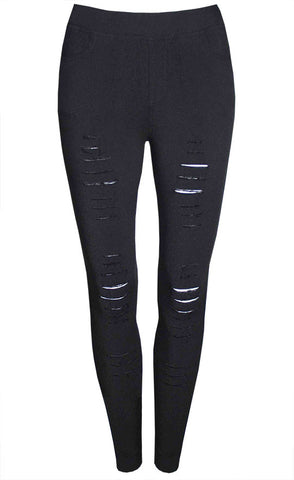Riptide Black Jeggings